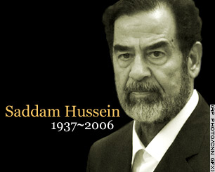Saddam is dood